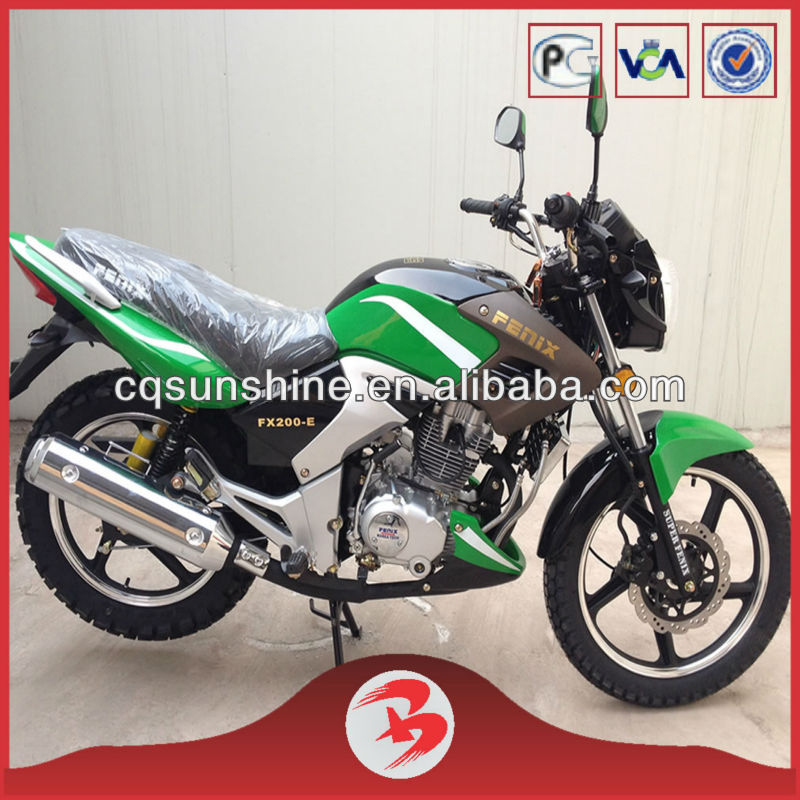 SX200-RX New Chinese 200CC Automatic Street Bikes
