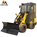 snow plow machine V-snow blade loader M910
