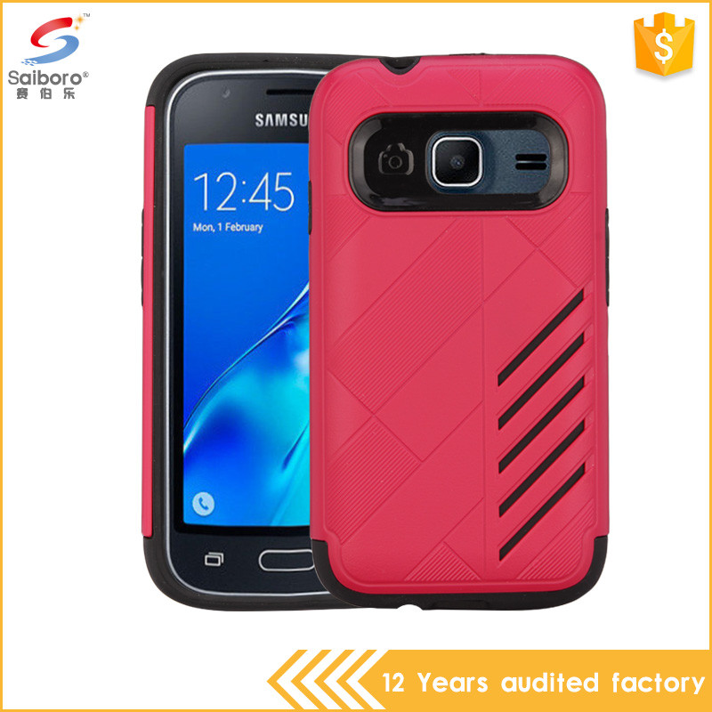 Wholesales creative 2 in 1 case cover for samsung galaxy j1 mini