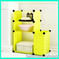 cheapest modern china supplier bathroom modular storage furniture FH-AL0707