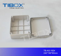 Beautiful, high quality, grey cover plastic ABS switch box electrical outlets floor box