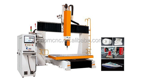 Europen quality factory manufacturer cnc cutting tool with good price cnc router wood PM 1224 5 axis