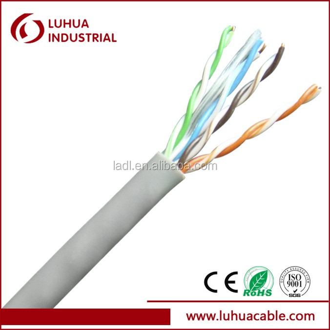 low loss CAT5e UTP cable Lan cable Fluke Test passed CE RoHS approved
