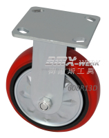 8in. Steel Core Heavy Duty PU Wheel