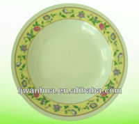 Catering dinner plates serving dishes