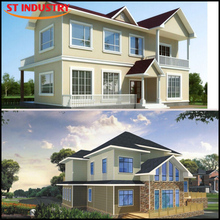 Fast Installation Economical Ecofriendly house prefab indonesia