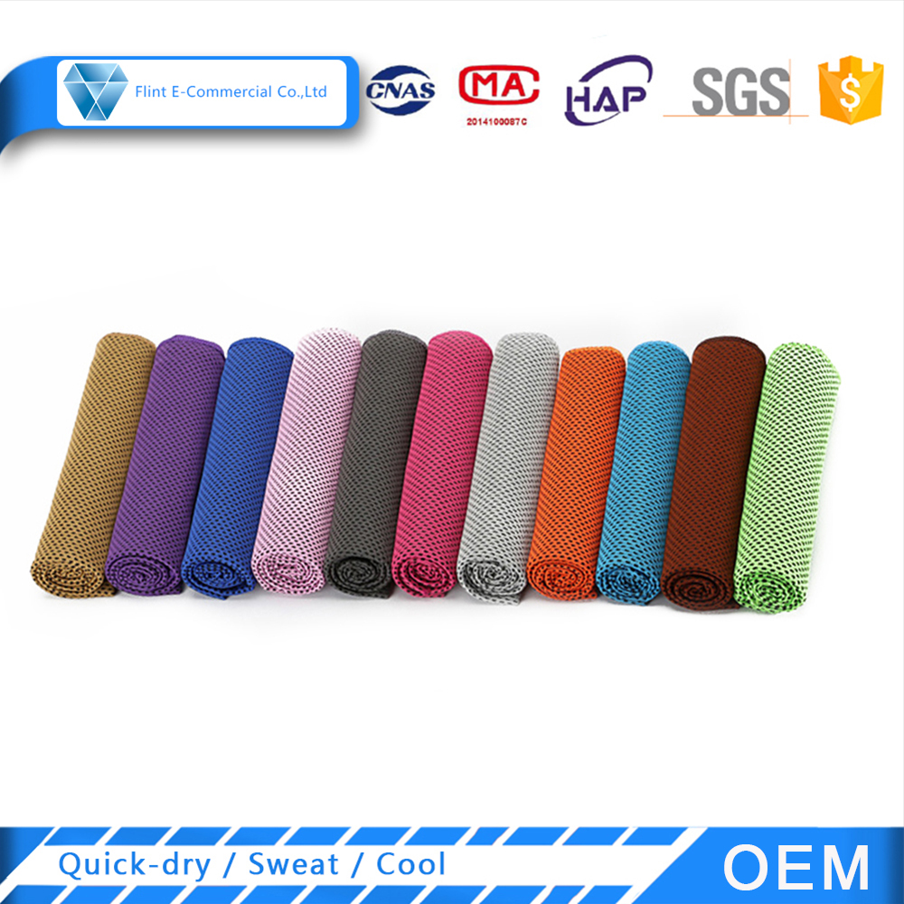 2018 Hot Sale Quick Dry Microfiber Cooling Towel for Sports