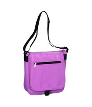 Lady's pink comfortable cell phone shoulder bag