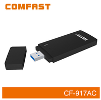 COMFAST CF-917AC 2.4GHz & 5.8GHz 1750Mbps Wireless Network Adapter 11AC Dual Band Wireless Wireless Dongle For Pc
