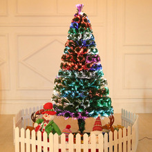 wholesale fiber optic christmas tree parts 6ft unique artificial christmas tree with light