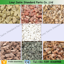 Landscaping colored crushed stone/ Pea gravel