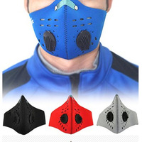 Best selling activated carbon filter neoprene dustproof half face mask