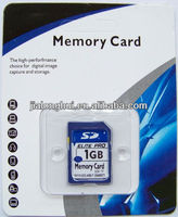 Factory supply! good quality 2GB sd memory card