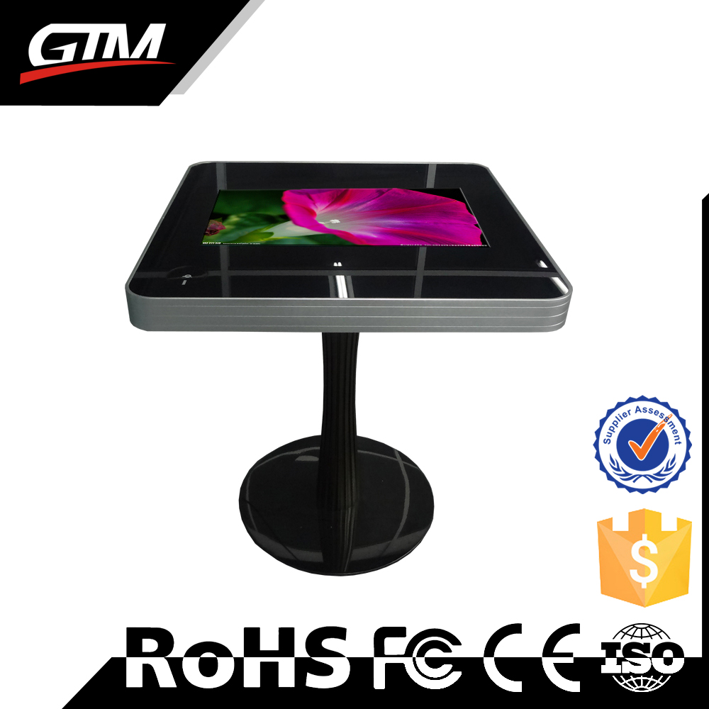 32 inch table with touch screen all in one pc case computer table android tablet kiosk stand