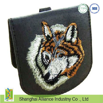 Pu Wallet with embroidery logo
