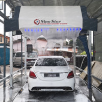Heating coil personal self car wash machine car wash service station equipment pdq laserwash 360 touchless car wash equipment