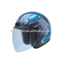 Low price PP material scooter open face helmet for sale