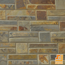 High quality wall decorative natural rusty slate paving stone cheap slate tile