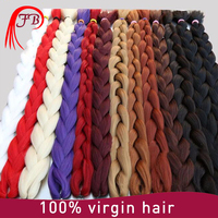 Synthetic Ombre Color Jumbo Braiding Hair Ombre X-pression Braid Hair