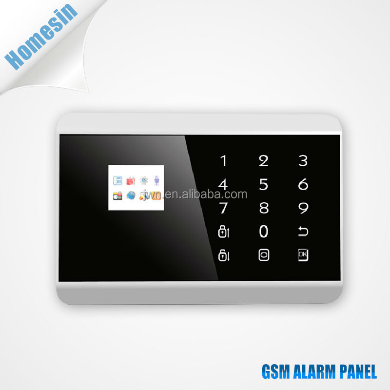 Touch Screen Wireless GSM Auto Dial Alarm System