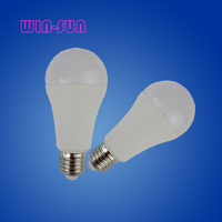 China LED light indoor lamp bulbs plastic and aluminum PC cover 270 degree IC driver SMD E27 15W A60 bulb