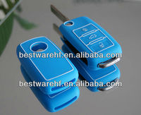 Personalized soft pvc rubber silicon car key covers