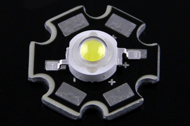 High Power 1W LED 140-200lm/w Bridgelux Chip Star Type Since 2008