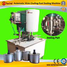 Canned Security Chafing Wick Fuel Sealing Machine