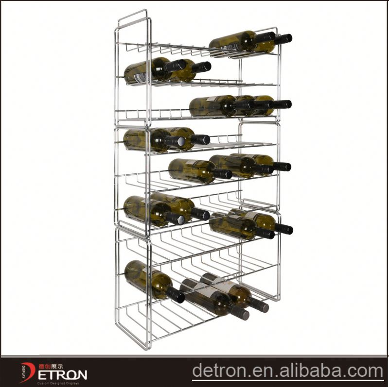 New Arrival metal drinking glass display rack