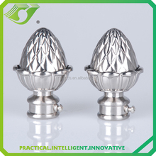A-F0084 curatin rod finial for home drapery,ball curtain finial