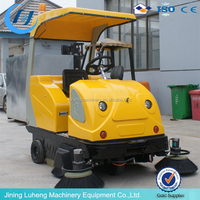 floor sweeper, vacuum parking lot sweeper/automatic street sweeper/electric garage sweeper