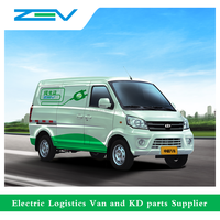 ZEV Z4WK electric car for cargo ice cream van
