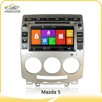 radio multimedia 2 din car dvd gps for mazda 5 support bluetooth tv