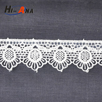 african cord lace manufacture,guipure lace top,fancy polyester lace trim exporter