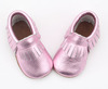 Wholesale Baby Bling Shoes Toddler Kids Genuine Leather Moccasins