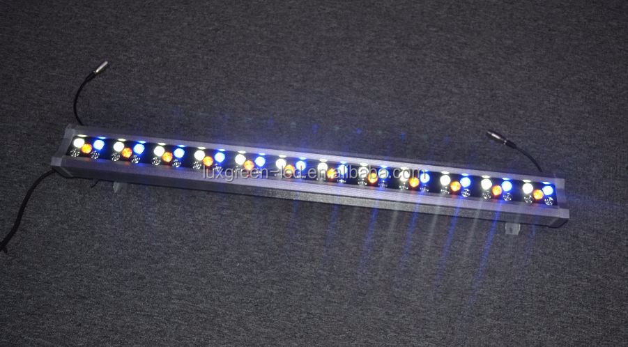60x3w RGBWA led wall washer light with internal dmx function