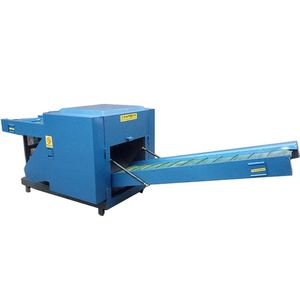 High Quality Leather Cutting Machine Price/ Rag Tearing Machine