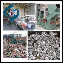 factory manufacturer aluminum can recycling machine for recycling aluminum cans