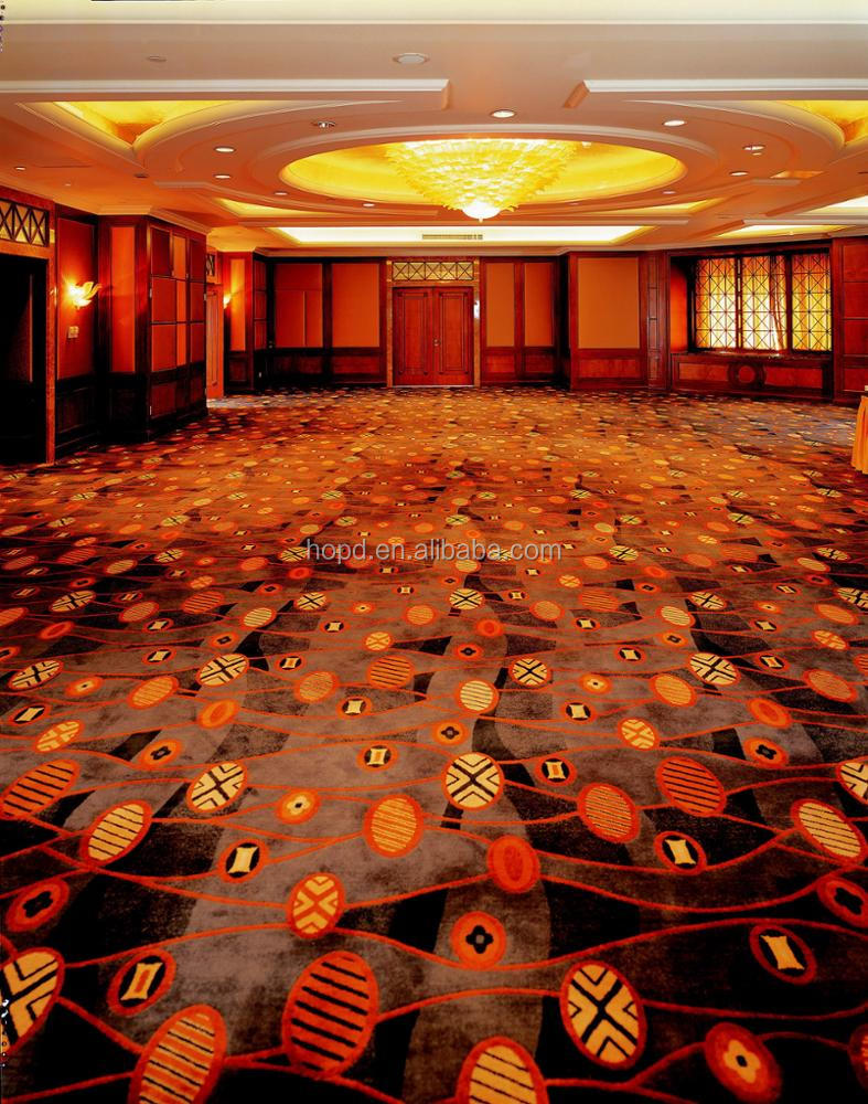 Fireproof wall to wall carpet luxury banquet hall carpet for hotel