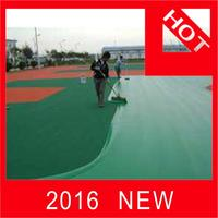 Plastic outdoor badminton court flooring flooring used basketball court with great price