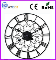 Metal gear wall clock wholesale / factory price clock