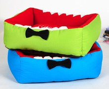 Big Mouth Shark Cartoon Design Funny Dog Beds