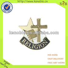 newest custom design gold metal badge emblem