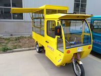new electric cargo tricycle for mobile food shop