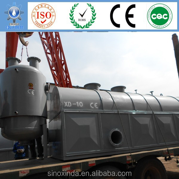 Sludge oil extracting to diesel continuous processing with whole producing line for sale