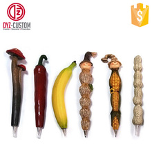 Vegetable & Fruit polyresin ballpoint pen Promotional Resin Fancy pens