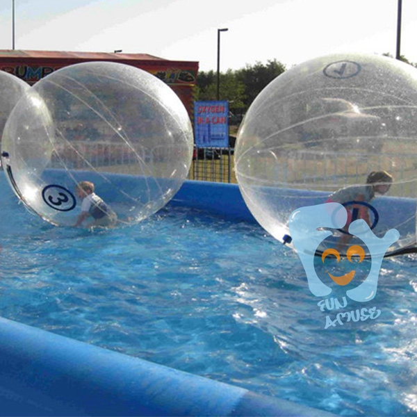 PVC human inflatable cheap sports water t ball toys