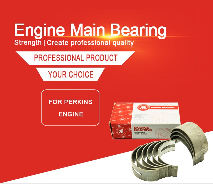 Weltake WMM brand Agriculture Machinery Parts Engin Bearing For Massey Ferguson 175 185 290 Tractor