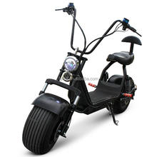 Fashion ahead citycoco electric scooter electric motorcycle folding e-bike big tyre