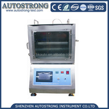 Factory Price Car Interior Material Burning Test Chamber , Vertical Flammability Tester